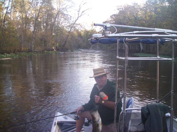 Fishing on the Ocklawaha River